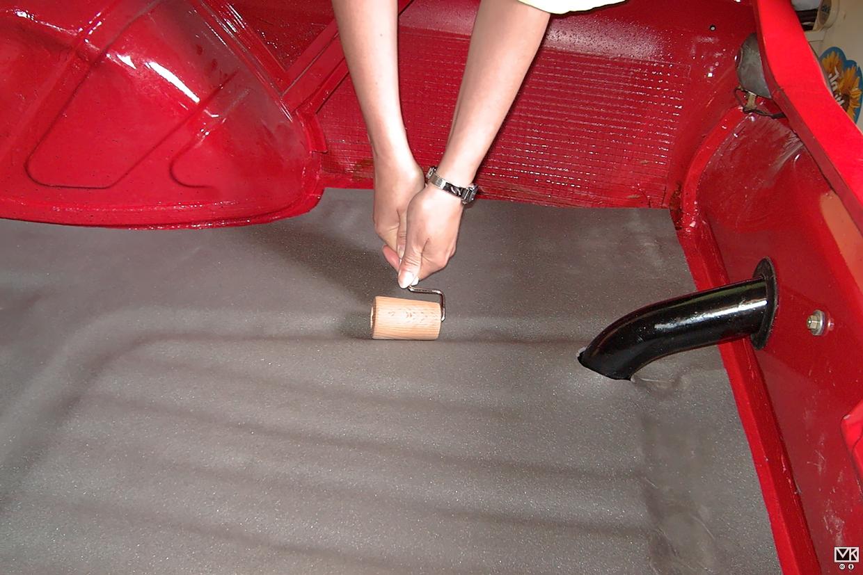 Fußbodendämmung 2
