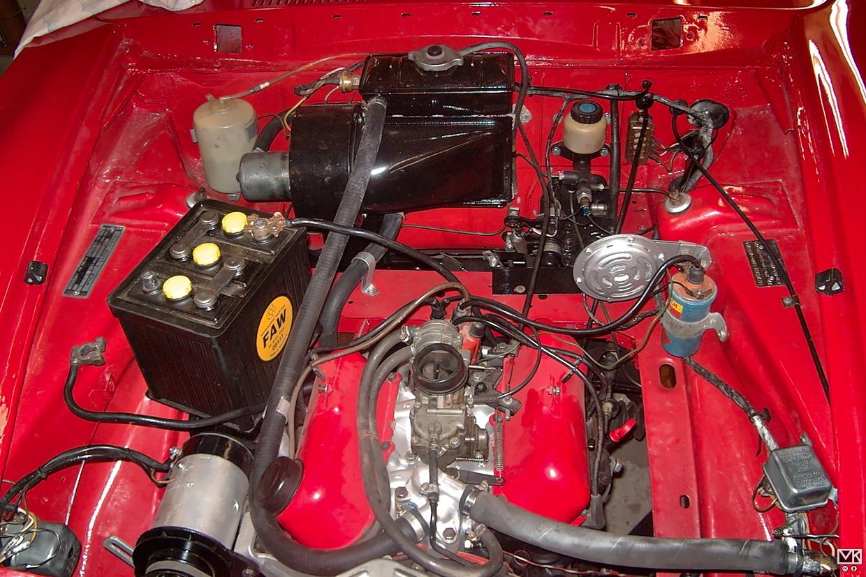 Motor wieder komplett